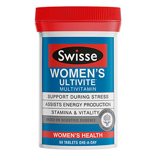 SWISSE WOMEN'S ULTIVITE 60 TABLETS