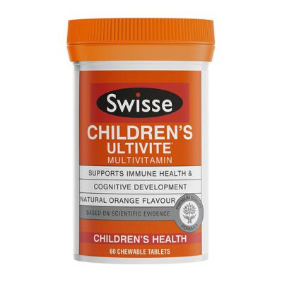 SWISSE CHILDREN'S ULTIVITE 60'S