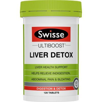 Swisse Ultiboost Liver Detox Swisse Ultiboost Liver Detox 120 Tablets