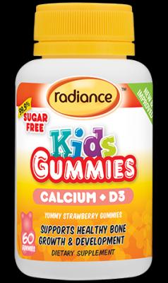 RADIANCE KIDS GUMMIES CALCIUM & VITAMIN D3 60