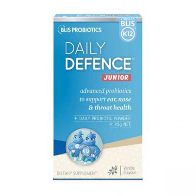 BLIS DAILY DEFENCE JUNIOR VANILLA 45GM