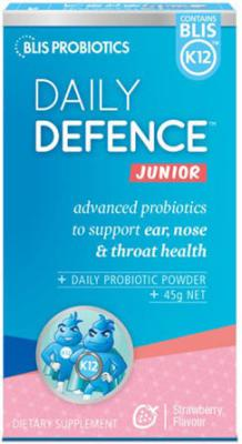 BLIS DAILY DEFENCE JUNIOR STRAWBERRY 45GM