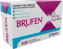 Brufen Tablets 200mg 100