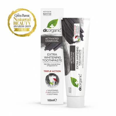 DR. ORGANIC CHARCOAL TOOTHPASTE 100ML