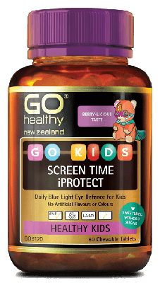 GO Healthy Go Kids Screen time iProtect 60 Chewable Tablets