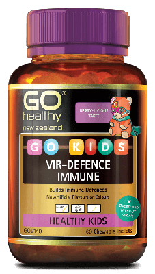 GO Healthy Go Kids Vir-Defence Immune 60 Chewable Tablets