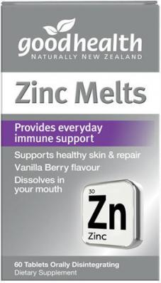 Good Health Zinc Melts 60