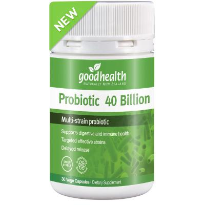 Good Health Probiotic 40 Billion 30 Capsules