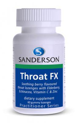 Sanderson Throat FX Gummy Lozenege 60