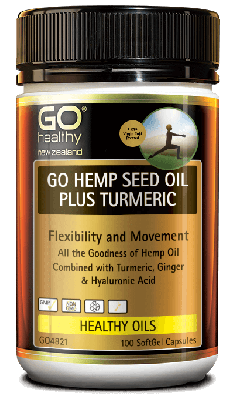 GO HEMP SEED OIL PLUS TART CHERRY & 5-HTP 100 CAPSULES