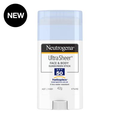 NEUTROGENA ULTRA SHEER STICK SPF50 42G