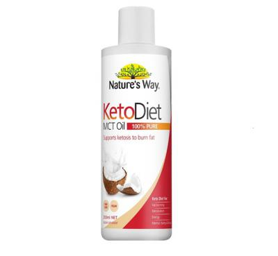 NATURE'S WAY KETO DIET MCT OIL 250ML
