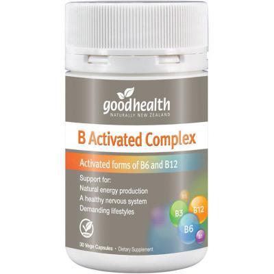 Good Health B Activated Complex 30 Capsules