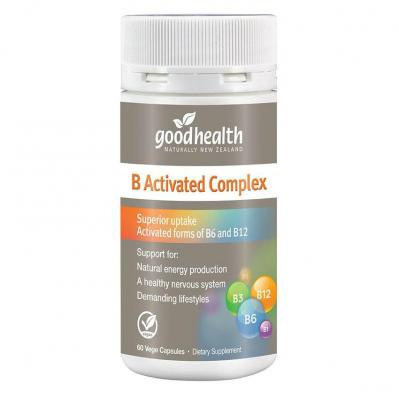 Good Health B Activated Complex 60 Capsules