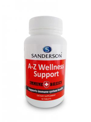 Sanderson Immune Basics A-Z Wellness Support 90 Tablets