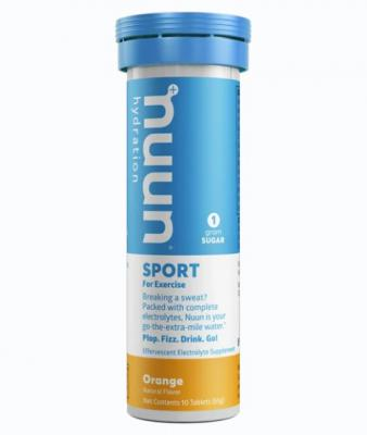Nuun Sport Effervescent Tablets Orange 10