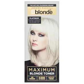 Jerome Russell Bblonde Maximum Blonde Toner Platinum