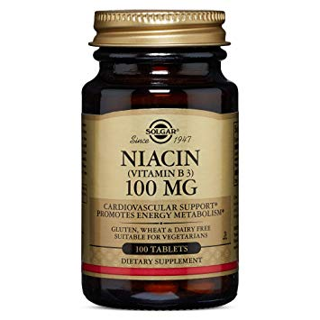 SOLGAR NIACIN VITAMIN B3 100MG 100