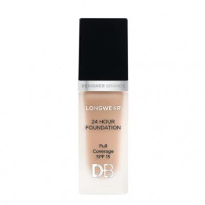 Designer Brands Longwear 24 Hour Foundation Warm Honey