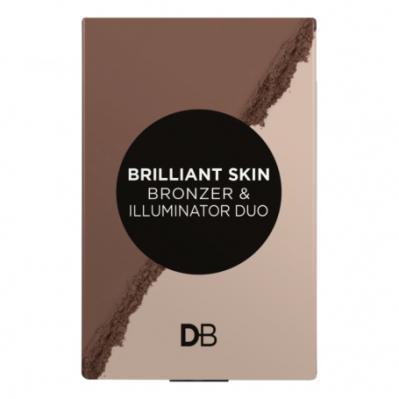 Designer Brands Brilliant Skin Bronzer And Illuminator Duo Bronze Glow
