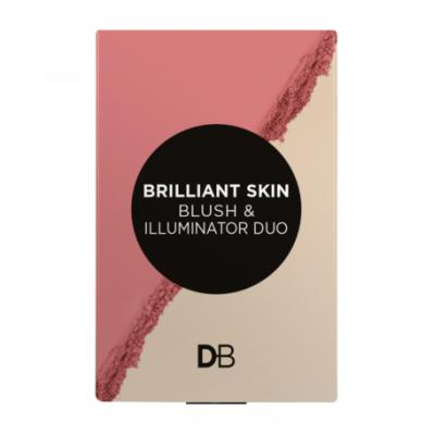 Designer Brands Brilliant Skin Blush And Illuminator Duo Rosy Glow