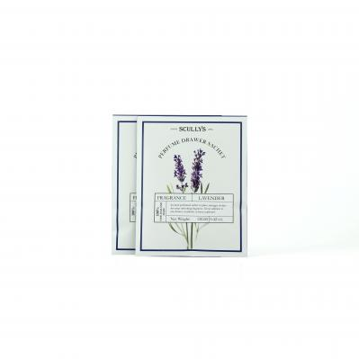 SCULLY'S LAVENDER PERFUME DRAWER SACHET TWIN PACK 12G