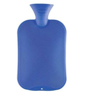 Fashy Hot Water Bottle Single Rib Assorted