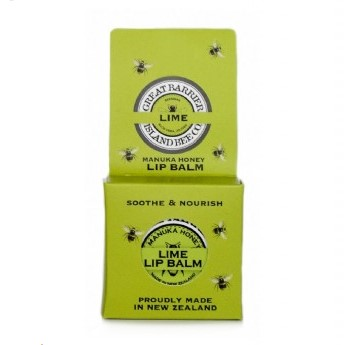 Great Barrier Island Hibiscus & Lime Soothing Lip Balm 15g
