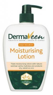 DERMAVEEN DAILY NOURISH MOISTURISING LOTION 500ML
