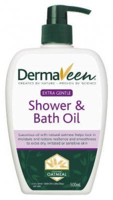 Dermaveen Extra Gentle Shower & Bath Oil 500ml