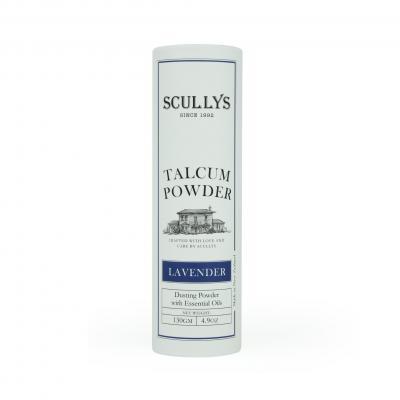 SCULLY'S LAVENDER TALCUM POWDER 130GM