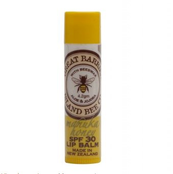 Great Barrier Island SPF30 Lip Balm Manuka Honey 4.2g
