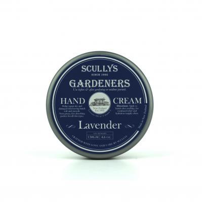 SCULLY'S GARDENERS LAVENDER HAND CREAM 130GM