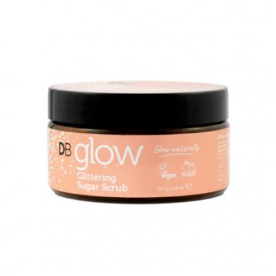 Designer Brands Glow Glittering Sugar Scrub 250ml