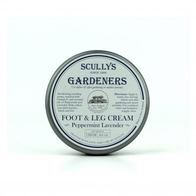 SCULLY'S GARDENERS FOOT & LEG CREAM 130GM