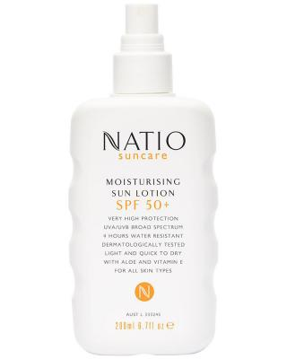 Natio Moisturising Sun Spray SPF50+ 200ml