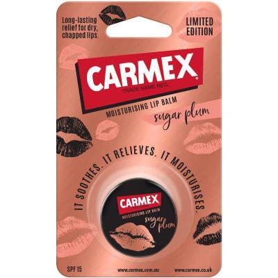 Carmex Moisturising Lip Balm Sugar Plum Rose Gold 7.5g