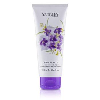 Yardley April Violets Hand & Nail Cream 100ml