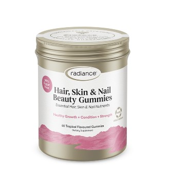 Radiance Hair, Skin & Nail Beauty Gummies 50 Tropical