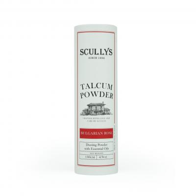 SCULLY'S ROSE TALCUM POWDER 130GM