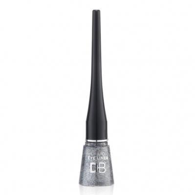 Designer Brands Liquid Eyeliner Glitter Silver