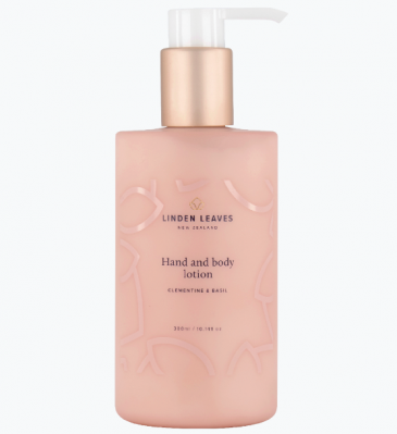 Linden Leaves Clementine & Basil Hand & Body Lotion 300ml