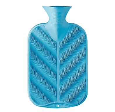 Fashy Hot Water Bottle Single Rib Emerald Cedar 2 Litre