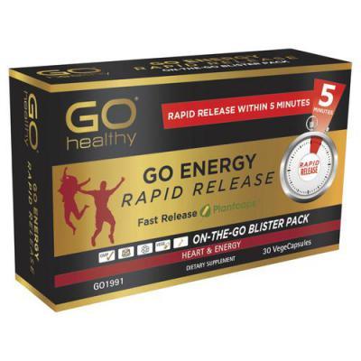 Go Healthy Energy Rapid Release 30 VegeCaps