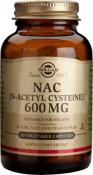 Solgar NAC N-Acetyl Cysteine 600mg 60 Capsules