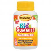 RADIANCE KIDS GUMMIES CALCIUM & VITAMIN D3 60