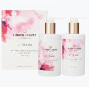 Linden Leaves In Bloom Lotion & Wash Set Pink Petal 2x300ml