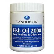 Sanderon Fish Oil 2000mg 220 Capsules