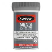 SWISSE MEN'S ULTIVITE 60 TABLETS