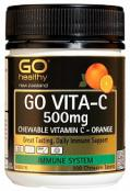Go Vitamin C 500mg Orange 100 Chewable Tablets